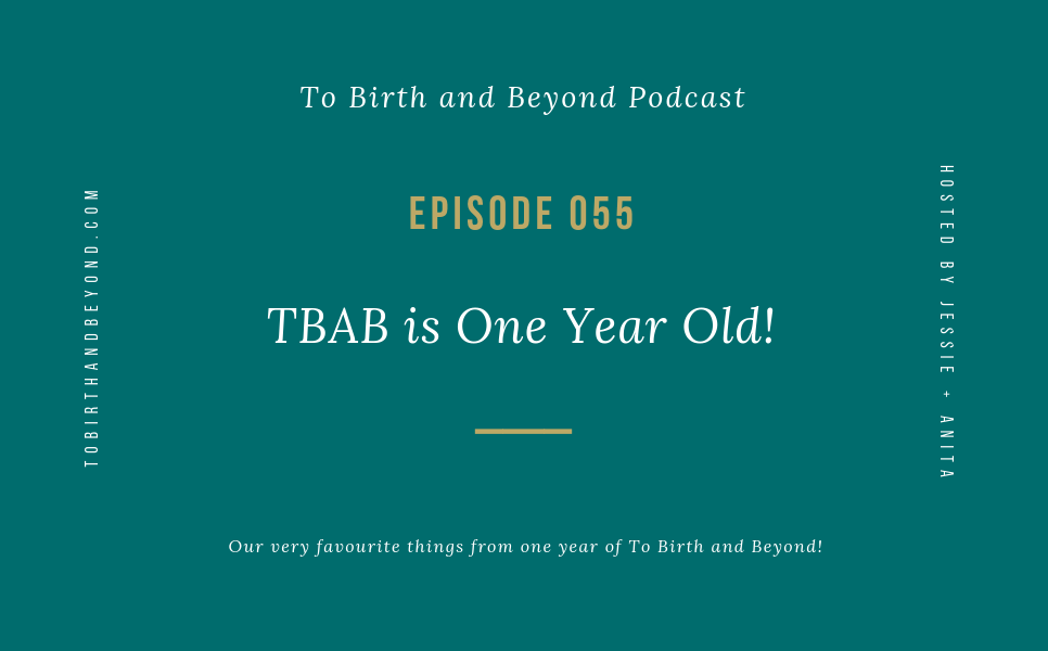 Episode 55: TBAB is One Year Old!