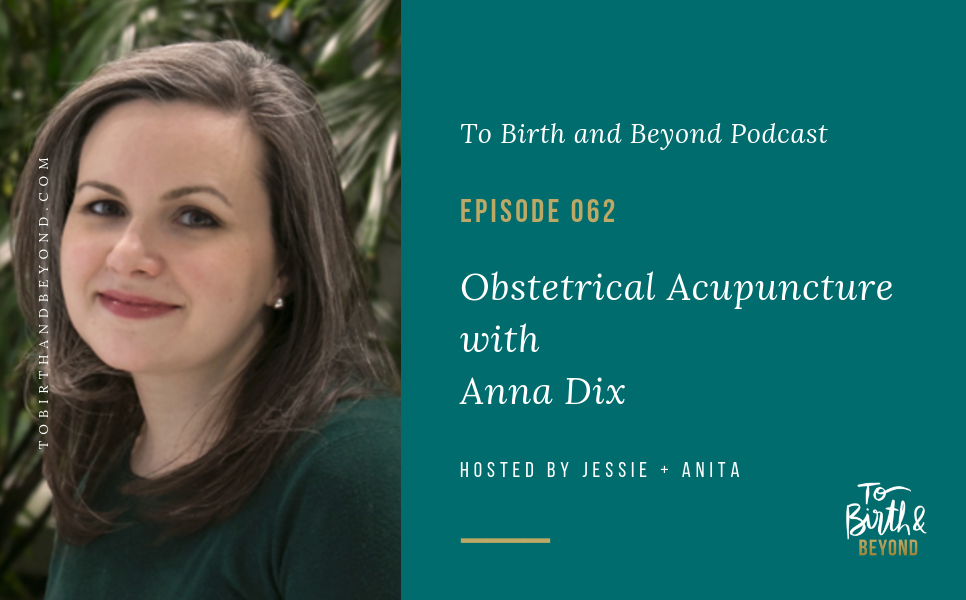 Episode 62: Obstetrical Acupuncture with Anna Dix