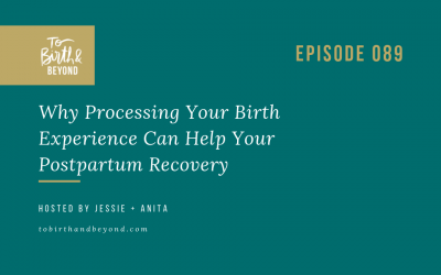 Episode 89: Why Processing Your Birth Experience Can Help Your Postpartum Recovery