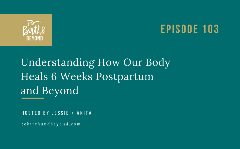Episode 103: Understanding How Our Body Heals 6 Weeks Postpartum and Beyond