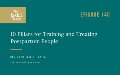 Episode 145: 10 Pillars for Training and Treating Postpartum People