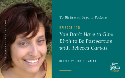 Episode 175: You Don't Have to Give Birth to Be Postpartum with Rebecca Cariati