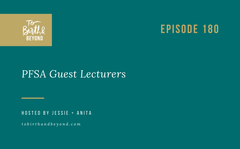 Episode 180: PFSA Guest Lecturers