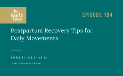 Episode 195: Postpartum Recovery Tips for Daily Movements
